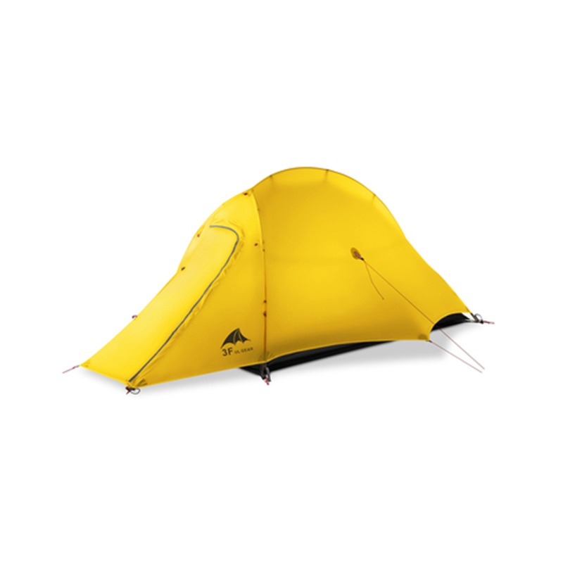 3F UL GEAR ZhengTu1 4 Seasons <font><b>Tents</b></font> <font><b>For</b></font> <font><b>Camping</b></font> Ultralight 15D Silicone <font><b>Waterproof</b></font> Anti-storm Anti-wind <font><b>Camping</b></font> <font><b>Tent</b></font> image