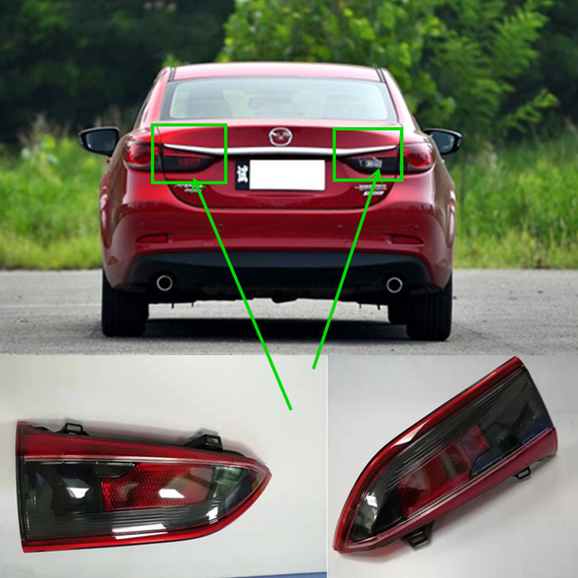 car accessories body parts inner tail lamp for Mazda 6 Atenza 2014 2016 model