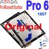 מקורי LCD עבור Surface של מיקרוסופט Pro 5 1796 פרו 6 1807 LCD תצוגת מגע Digitizer עצרת עבור משטח pro5 Pro6 LP123WQ1 Lcd