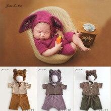 ジェーンzアン新生児/100 日ベビー写真服スタジオ撮影小道具少年少女写真撮影衣装到着