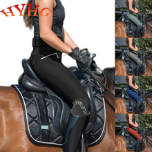 HYHG Horse Riding Pants Clothes For Women Men Unisex Trousers Female Male Elastic Equestrian Breeches Horse Rider Pants