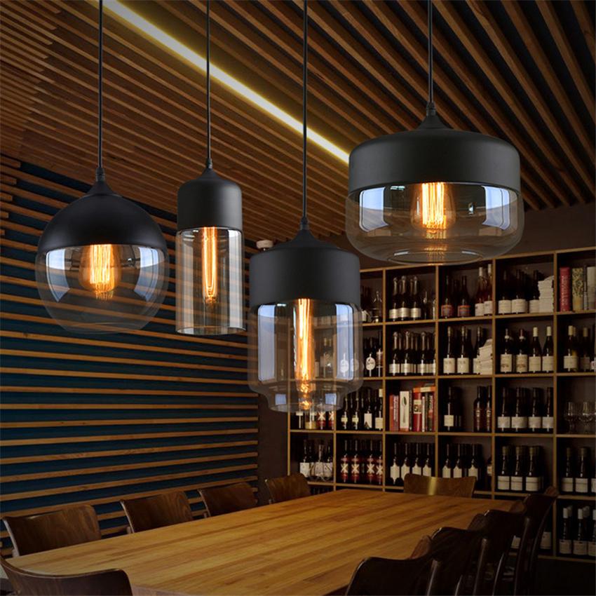 H1e84083241d642d2b53d4d9eb418dfdfg - Modern Home Decor Pendant Lights Nordic Clear Glass Lampshade Pendant Light Indoor Lighting Living Room Hanglamp Light Fixture
