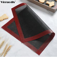 Perforated Silicone Baking Mat Non-Stick Oven Sheet Liner Tool For Cookie /Bread/ Macaroon/Biscuit Kitchen Bakeware Accessories