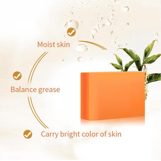 Savon de blanchiment de la peau noir foncé savon de blanchiment à lacide kojique
