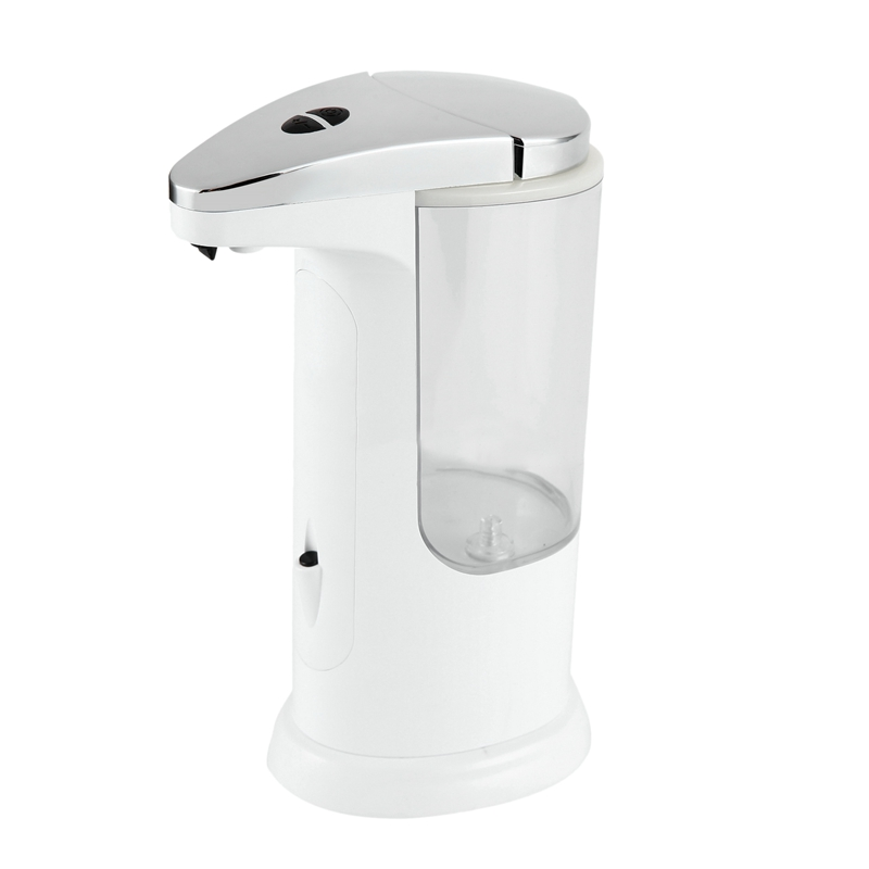 Touchless Soap Dispenser, 370Ml Automatic Liquid Dispenser With 3 Adjustable Dispensing Volume, Ip65 Waterproof, Anti-Leakage, T