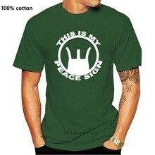 Este é o meu sinal de paz camiseta m16 rifle pistola pro arma ar 15 m4. 223 ak tshirt impressão casual camisa masculina marca casaco roupas topos