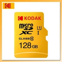 KODAK – carte Micro SD U1, 16 go/32 go/64 go/128 go, classe 10, mémoire Flash, haute vitesse