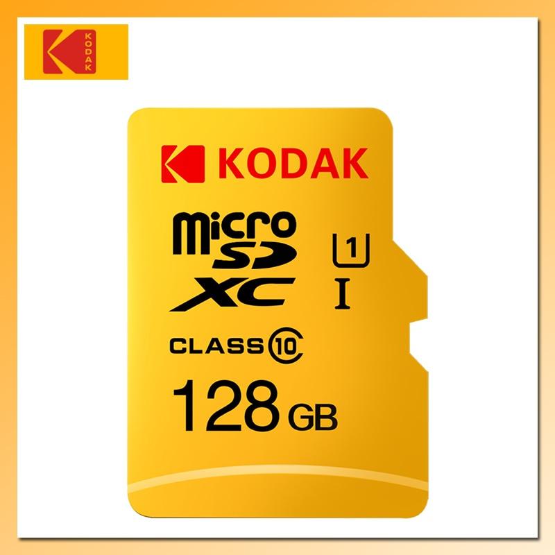 KODAK tarjeta de Memoria Flash U1 128GB 32GB 64GB Micro SD de 16GB alta velocidad tarjeta de Memoria tarjeta Micro SD TF/tarjeta SD Clase 10 tarjeta de