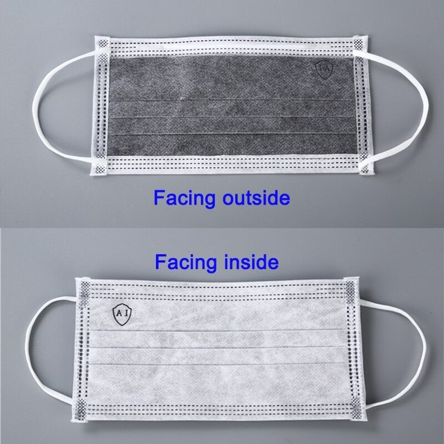 Profession 3-Ply Disposable Mask Nonwoven Masks PM2.5 Anti-Dust Face Masks Elastic rope Soft Breathable Flu Hygiene Safety Masks 4