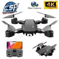2021 nuovo S600 Drone 4K HD Double Shot fotografia aerea fotocamera con WIFI RC aereo pieghevole Quadcopter professionale Dron Boy giocattoli
