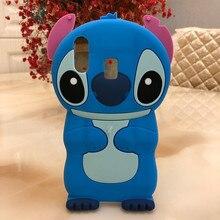 Cute Phone Case For Samsung Galaxy A20 Rubber Cartoon Stitch