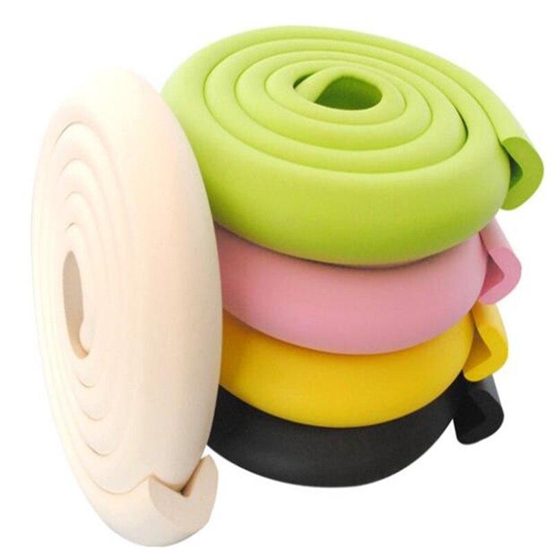 Wholesale 2m L Type Thicken Baby Anti-collision Strip NBR Protective Strip Security Strips Furniture Anti-collision Foam Sponge