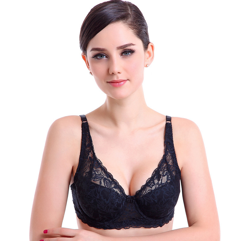 New <font><b>Sexy</b></font> Lace Bra Intimates for Women's Bras Bralette Underwear <font><b>Sexy</b></font> Lingerie Push up Brassiere <font><b>Girl</b></font> Deep V Cup A <font><b>B</b></font> C <font><b>D</b></font> image