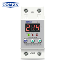 Voltage-Display-Relay Reconnect-Protector Over-Under-Voltage Automatic Proteciotn-Device
