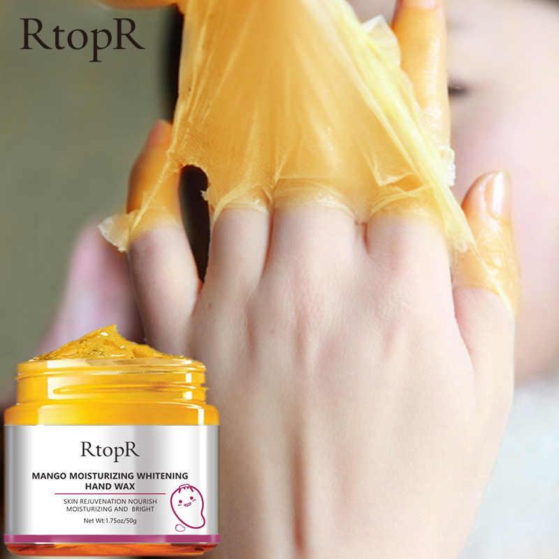 مانجو ترطيب اليد الشمع تبييض الجلد قناع اليد إصلاح تقشير النسيج حمض مكافحة الشيخوخة اليد كريم علاج الجلد 50 جرام