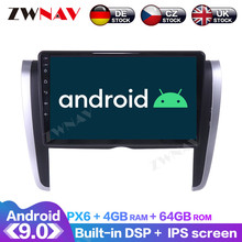 aoluoya ram 2gb 32gb android 6 0 2 din car radio dvd gps player for audi a4 s4 rs4 2002 2007 2008 car audio navigation head unit Android 9.0 4+64G PX6 DSP Carplay Radio Car DVD Player GPS Navigation For Toyota Allion 2007 2008 - 2015 Head Unit Multimedia