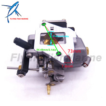 6E8 14301 05 6E7 14301 684 14301  2 stroke 9.9hp 15hp Boat Motor Carburetor Carb assy  For Yamaha Outboard Engines