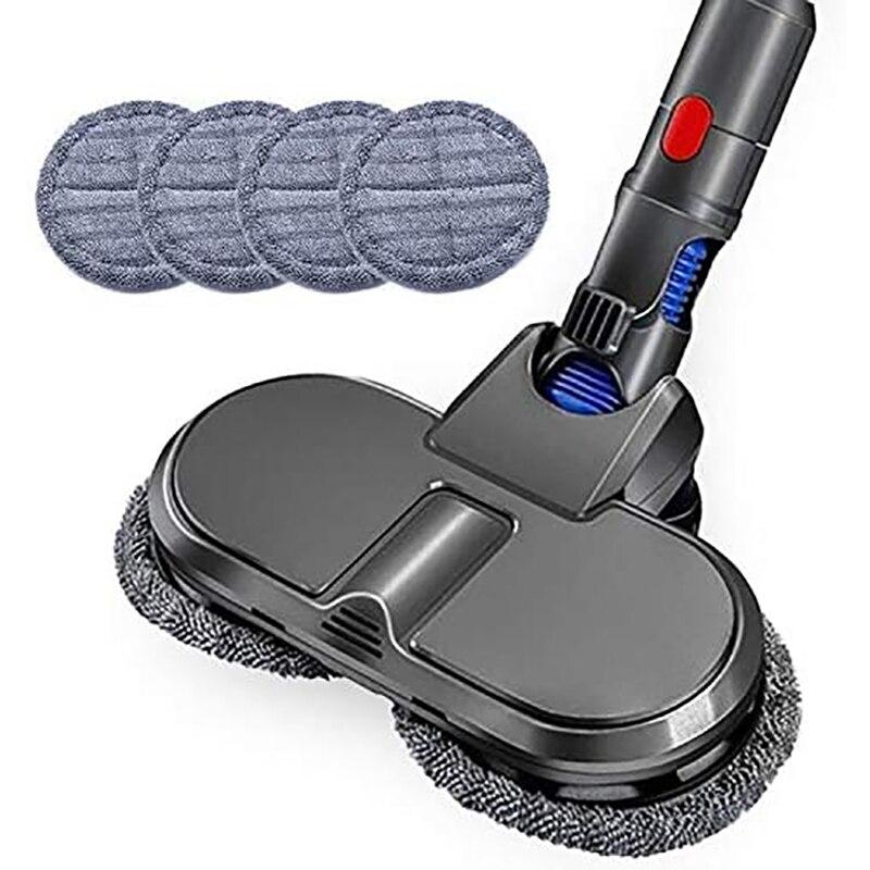 Электрическая Насадка для пылесоса Dyson V7 V8 V10 V11, щетка для влажной и сухой уборки, сменные детали