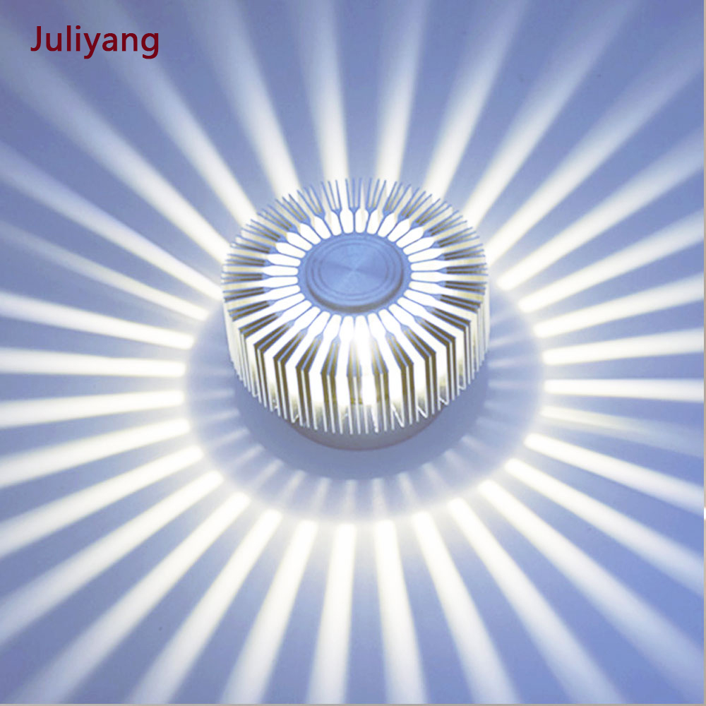 Sunflower Wall Lamp Modern Led Lighting  For Indoor Decoration Corridor Aisle Restaurant  AC85-265V