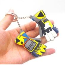 Moto พวงกุญแจถุงมือรูปร่าง Moto รีไซเคิลอุปกรณ์เสริม Key แหวนรถยนต์สำหรับ Porta Chaves portachiavi Moto BMW E46 อุปกรณ์เสริม