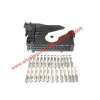 1 Sets 26 Pin Auto Navigation Controller Stecker Instrument Stecker Scheinwerfer AFS Stecker Mit Terminals Für VW Cayenne 7L6 972 726