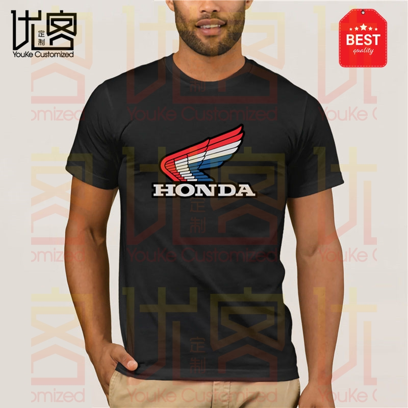 2019 New Summer Tee Shirt Japanese Honda Motorcycle Men's 85 Trials Charcoal T-shirt, Cool T-shirt