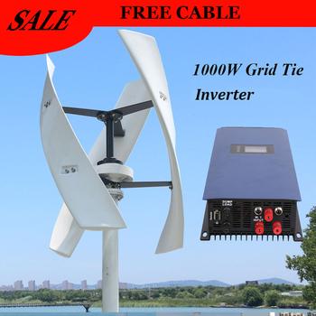 FLTXNY 600w 12v 24v 48v 300RPM pionowa turbina wiatrowa Maglev generator wiatrowy z 1000w na inwerter sieciowy do użytku domowego tanie i dobre opinie FX-600 Generator energii wiatru Jiangsu China (Mainland) White Red 3 phase maglev generator 12v 24v