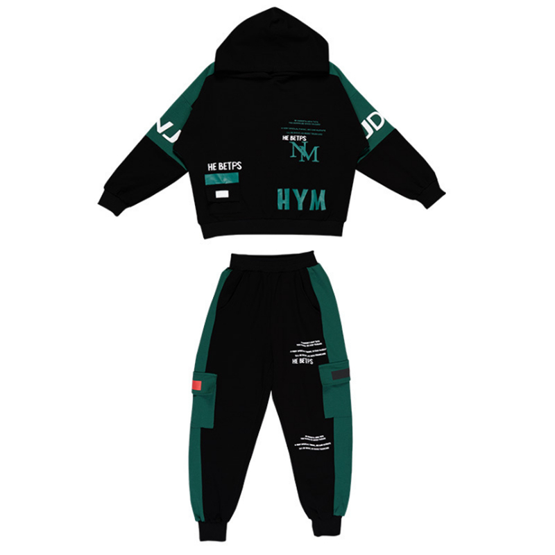 2021 Spring Autumn Kids Clothes Boys 3 4 5 6 7 8 9 10 11 12 14 Years Boys Clothing Set Sports Suit Boys Hooded Jacket And Pants 3