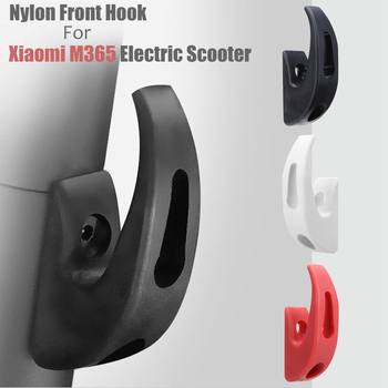Front Hook Hanger For Xiaomi M365/M187/Pro Lightweight Nylon Scooter Skateboard Storage Tools Hook Electric Scooter Accessories image