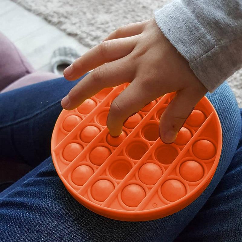 Toy Fidget-Toys Autism Bubble-Sensory Rainbow Anti-Stress Square Squishy Push-Pops Pop-It img4