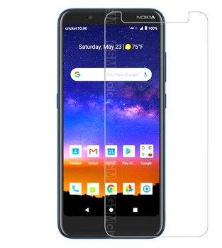 Перейти на Алиэкспресс и купить Для Nokia C2 Tava закаленное стекло 9H Защитная пленка для переднего экрана для Nokia C2 Tava Защитная пленка для экрана