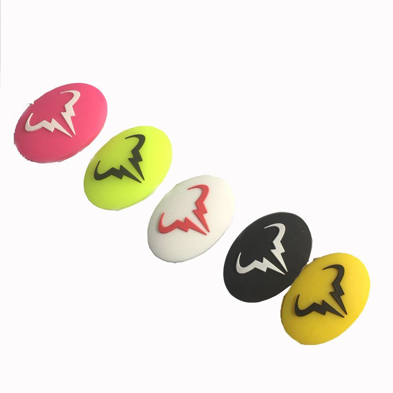 5pcs NEW COLORS Nadal Tennis Vibration Dampener To Reduce Tenis Racquet Vibration Dampeners Raqueta Tenis