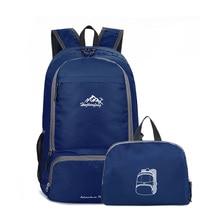 Mochilas de escalada de viaje para hombres, bolsas para mujeres, mochilas impermeables para senderismo, mochilas para acampar al aire libre, mochilas deportivas, mochilas plegables, bolsas Casuales