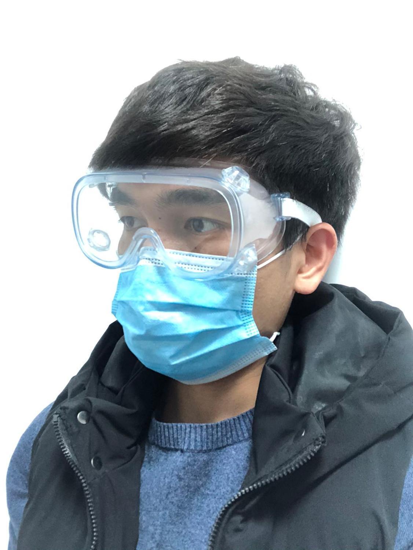 ALI shop ...  ... 4000748918458 ... 3 ... Clear Protective Safety Glasses Work Anti Virus Eye Anti-Fog Anti-sand windproof Anti Dust Saliva Transparent Goggles Eye glasse ...