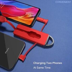 Folding Keychain 3 in 1 Chargi
