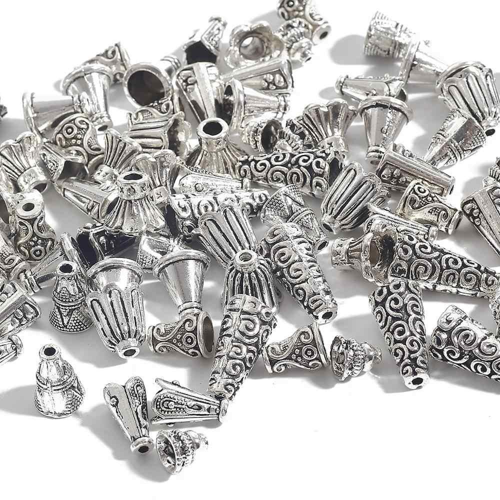 10 stücke 7/8/9/10/11mmAntique Tibetischen Silber Farbe Rohr Spacer Perlen für Schmuck, der DIY Halskette Armband Handmade Ergebnisse