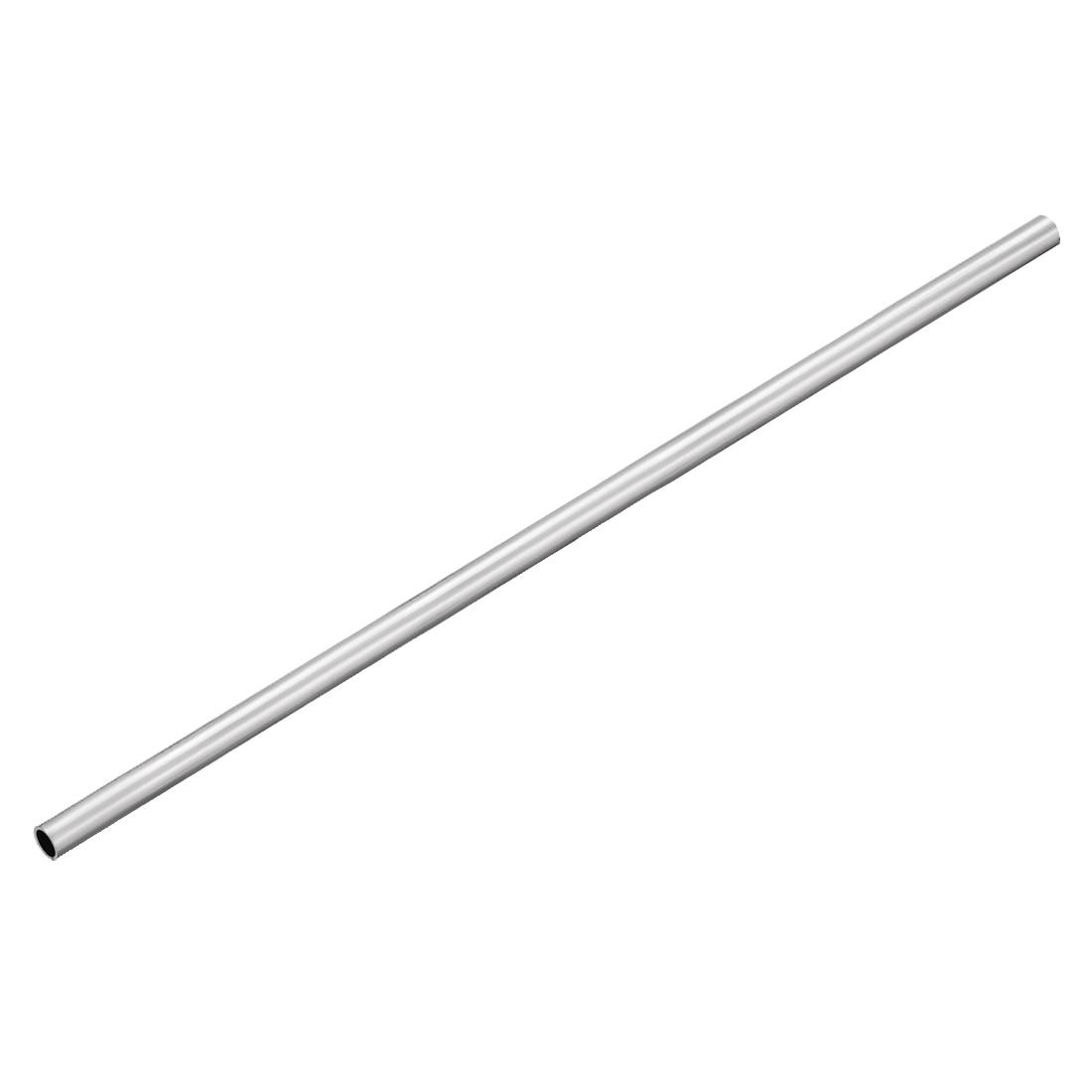 uxcell 6063 Aluminum Round Tube 300mm Length 18mm OD 15mm Inner Dia Seamless Aluminum Straight Tubing 3 Pcs