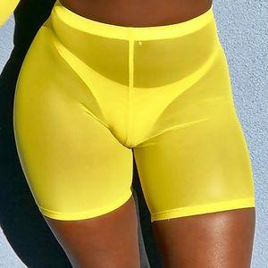 2020 Summer Women High Waist Sports Shorts Casual Beach Running Slim Ladies Shorts Hot Shorts