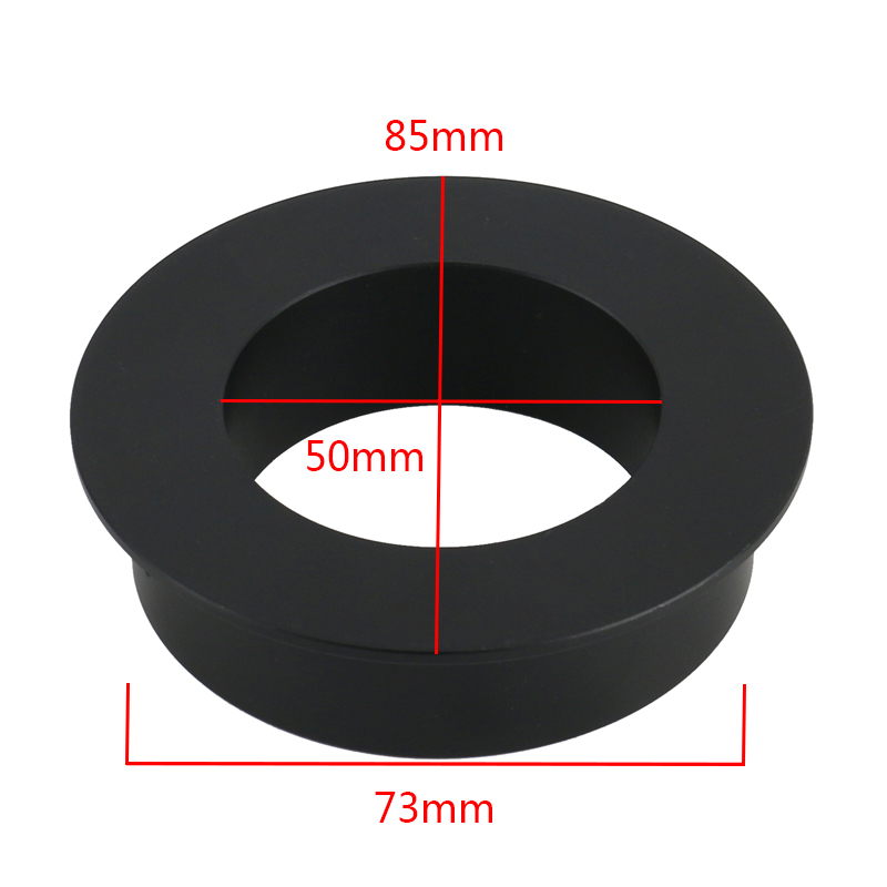Stereo Microscope 76mm To 50mm Ring Adapter For 76mm Adjustment Bracket For 300X 180X C Mount Lens Video Microscope Camera