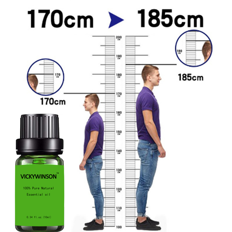 New Height Increasing Oil Medicine Body Grow Taller Essential Oil Foot Health Care Products Promot Bone Growth 10ml