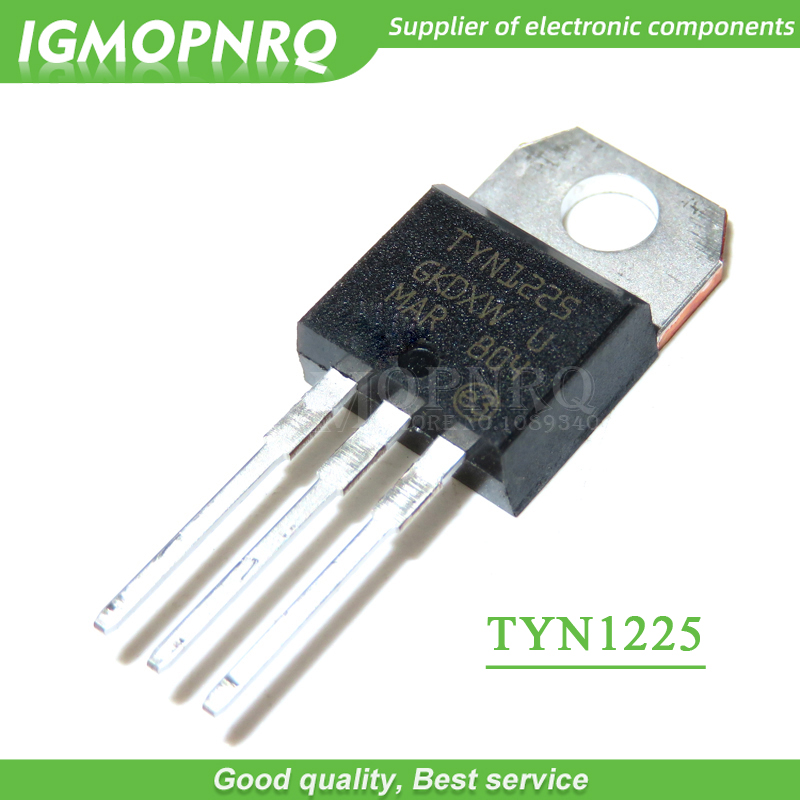 5pcs free shipping TYN1225 SCRs <font><b>25</b></font> Amp 1200 Volt TO-<font><b>220</b></font> new original image