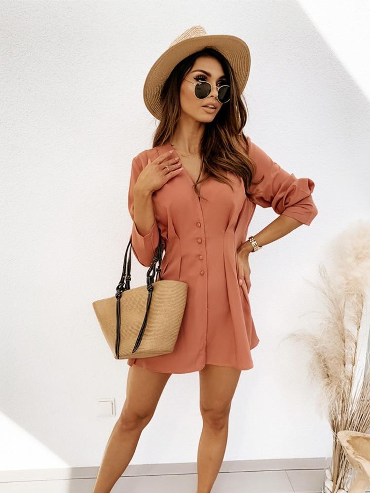 Long Sleeve Sexy Mini Dresses