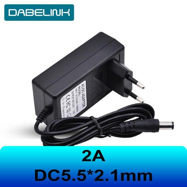 Carregador de carregador 16.8v 21v 8.4v 12.6 12v, dc 5.5*2.1mm 2a 18650 carregador de bateria de íon de lítio, ip, câmera, cctv