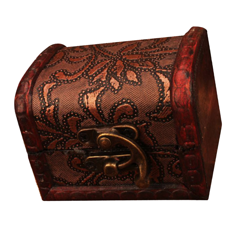 Chinese Vintage Style Wooden Jewelry Boxes Unique Gift Box For Woman/Girl's