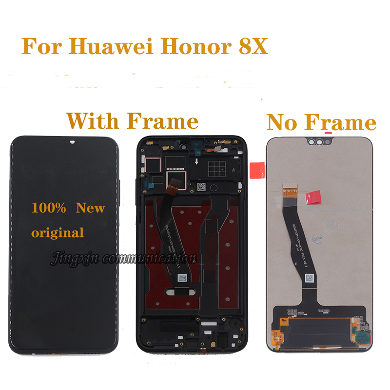 """6.5 """"Original display For Huawei honor 8X LCD monitor + touch screen digitizer replacement for honor 8x JSN L21 JSN AL00 JSN L22-in Mobile Phone LCD Screens from Cellphones & Telecommunications"""