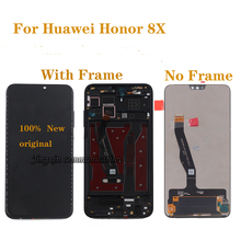 6.5 Original display For Huawei honor 8X LCD monitor + touch screen digitizer replacement for 8x JSN-L21 JSN-AL00 JSN-L22