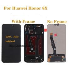 ต้นฉบับสำหรับHuawei Honor 8X LCD + หน้าจอสัมผัสหน้าจอเปลี่ยนDigitizerสำหรับHonor 8x JSN L21 JSN AL00 JSN L22 LCD