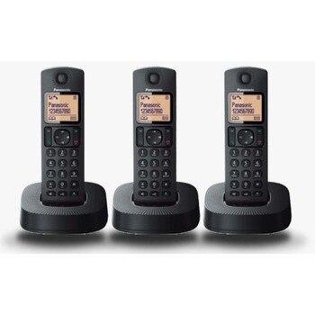 PHONE KXTGC313SPB BLACK TRIO DECT
