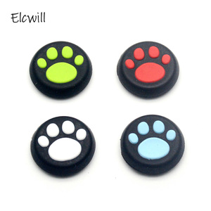 Image 1 - 2pcs/lot Silicone ThumbStick Grips Caps Gamepad Joystick Button Cover Case for Sony PS4 /PS3 for XBOX One 360 Controller