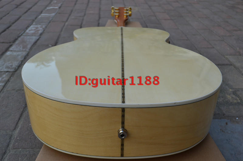 43 inch acoustic extra make guitar with fisherman eq image